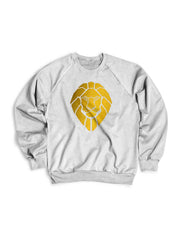 Golden Lionheart Crewneck Sweater