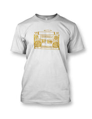 Hip Hop Boombox Vol.1 Tee Gold
