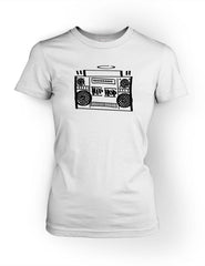 Hip Hop Boombox Vol.1 Womens Tee