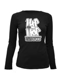 Hip Hop State of Mind LS T-Shirt Womens