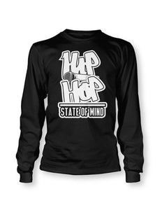 Hip Hop State of Mind Long Sleeve T-Shirt