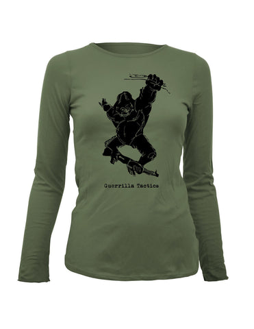 Guerrilla Tactics Womens LS T-shirt