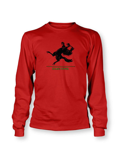 Horse Power Men's LS T-shirt