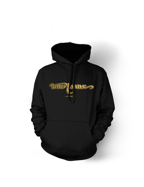 TE Banner Black&Gold Pullover Hoody