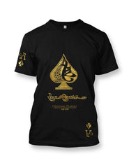 True Ace Black & Gold - Men's Crewneck T-shirt