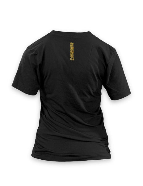 EWBQ Black - Women's VNeck T-Shirt