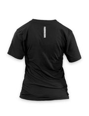 Bonsai Women's Black Vneck T-shirt