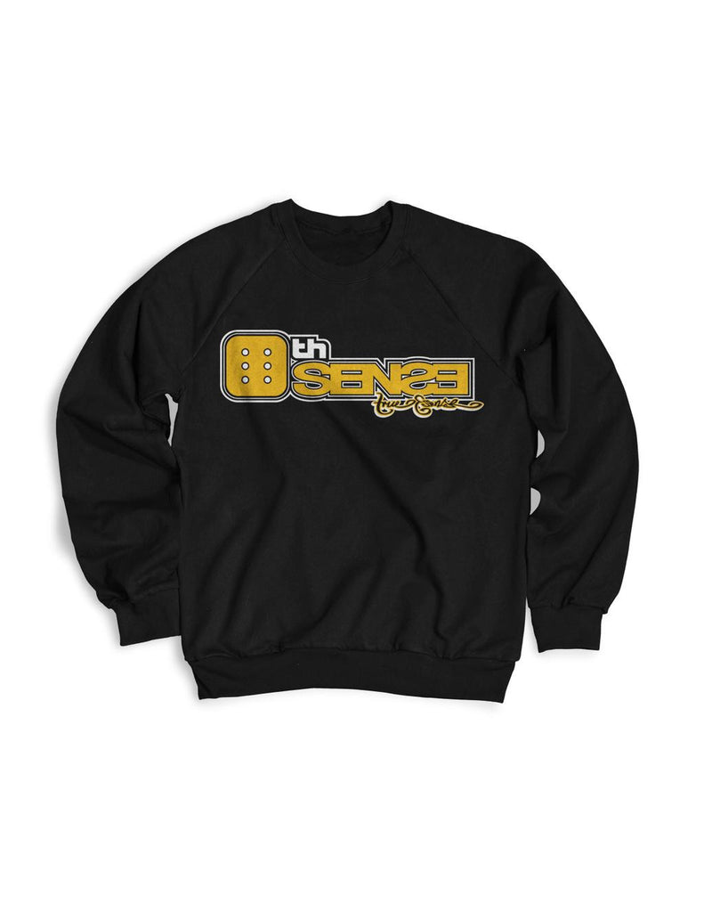 6th Sense Black Crewneck Sweater