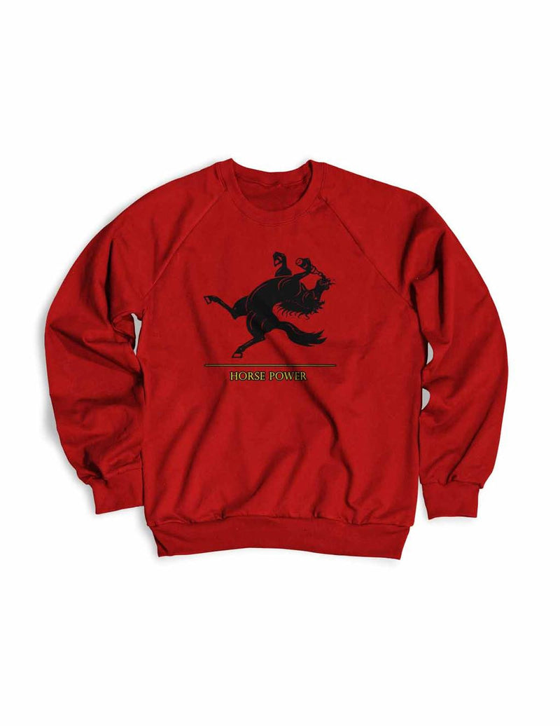 Horse Power Men's  Crewneck Sweater