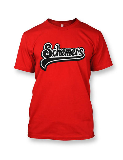 Schemers Red Men's Crewneck T-shirt