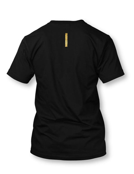 TE Banner Men's Black Crewneck T-shirt
