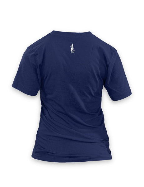 Schemers Navy blue Women's Vneck T-shirt