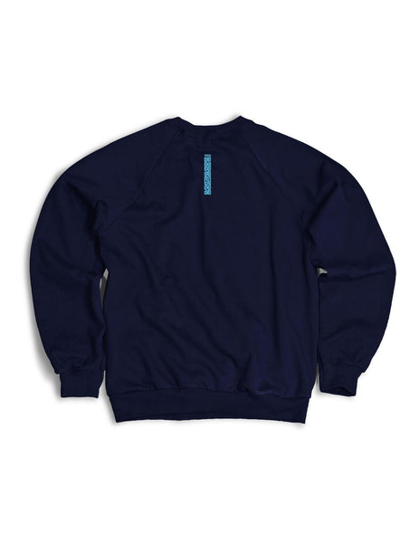 6th Sense Navyblue Crewneck Sweater