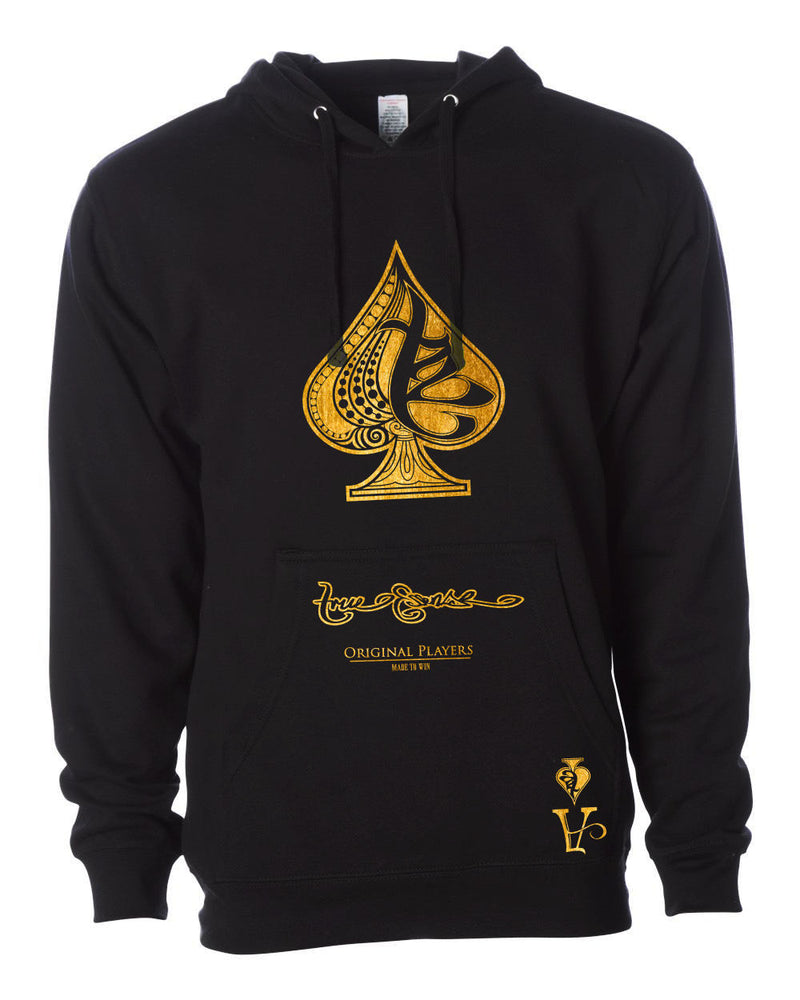 True Ace Gold & Black Hoody