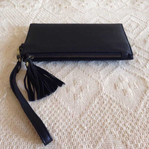 Leather Wallet- Black