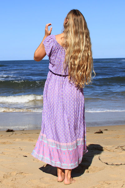 Gypsy Soul Dress Purple
