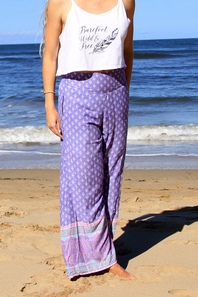 Gypsy Pocket Pants Purple