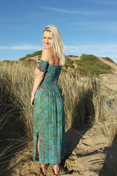 Wild Spirit Dress Maxi- Mystic Gardens