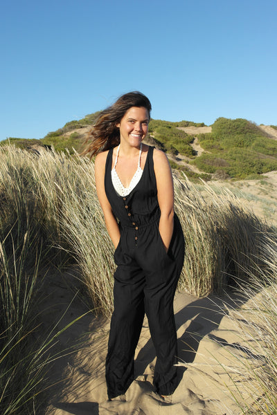 Roamer Jumpsuit- Black