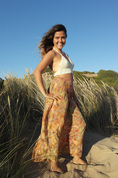 Bohemian Skirt- Earthy Orange