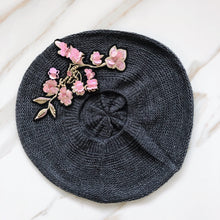 Load image into Gallery viewer, Fleur Lightweight Beret