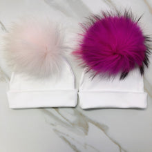 Load image into Gallery viewer, VB Signature Solid Pom Pom Baby Beanie