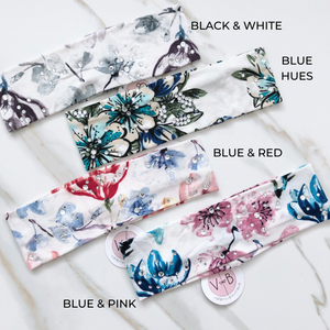 Floral Sparkle Hues Headband Collection