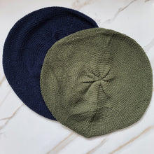 Load image into Gallery viewer, Solid Lightweight Beret- On Sale