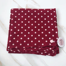 Load image into Gallery viewer, Polka Dot Headscarf