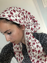 Load image into Gallery viewer, Poppy Dreams Headscarf