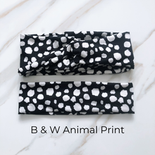 Load image into Gallery viewer, Assorted Animal Print Headbands- 2 Styles