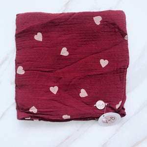 Heart Angel Soft Scarf