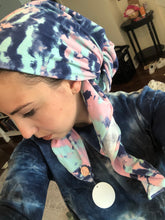 Load image into Gallery viewer, Splash Tie Dye Scarf