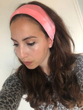 Load image into Gallery viewer, Peachy Pink Tie Dye Headband