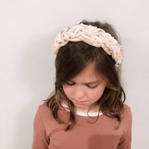 Stephanie Braided Hard Headband