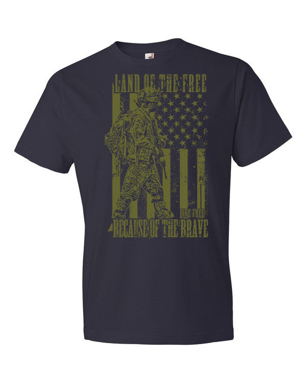 Land of the Free Short sleeve t-shirt