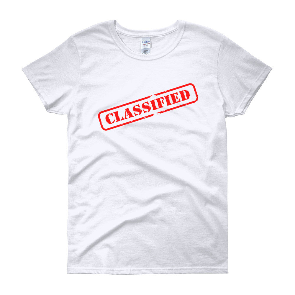 Classified Women's short sleeve t-shirt