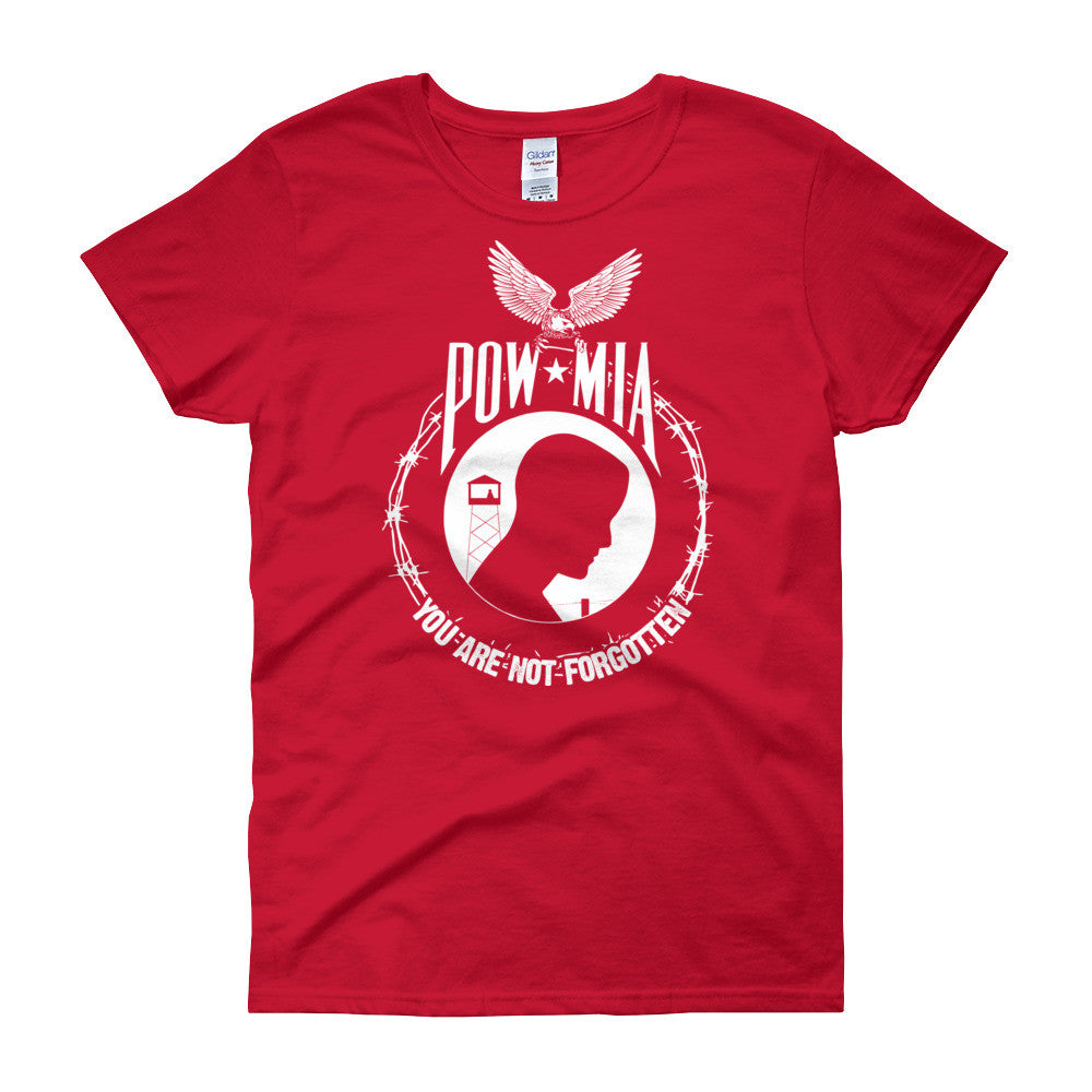 POW MIA Women's short sleeve t-shirt