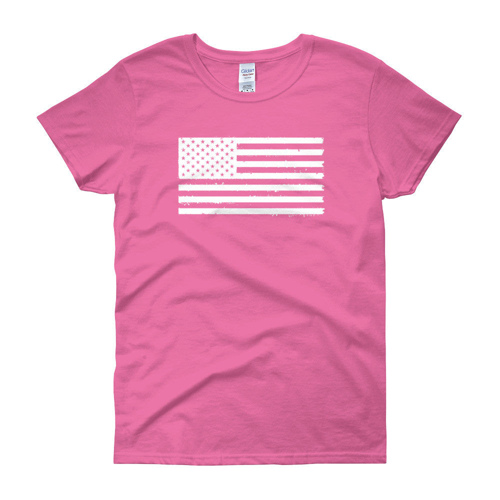 White Flag Women's short sleeve t-shirt
