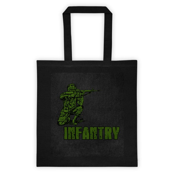 Infantry Tote bag
