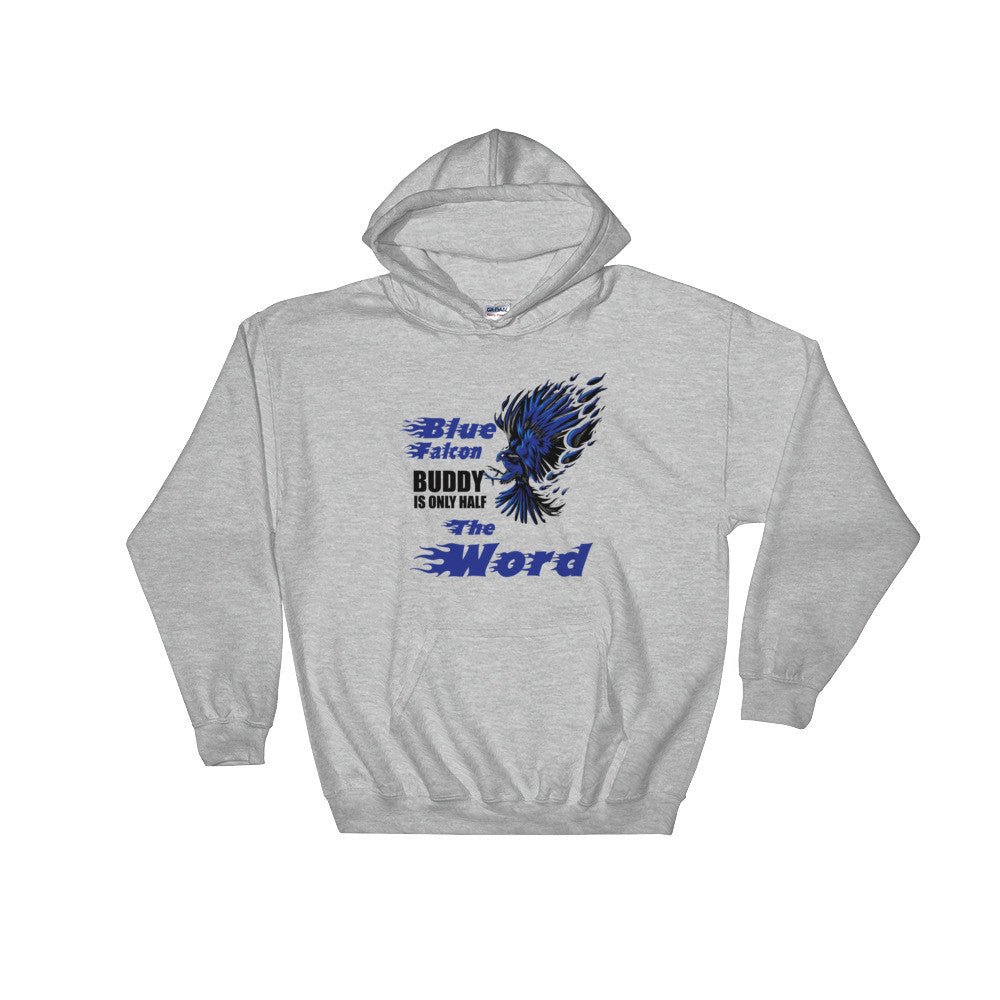 Blue Falcon Hooded Sweatshirt