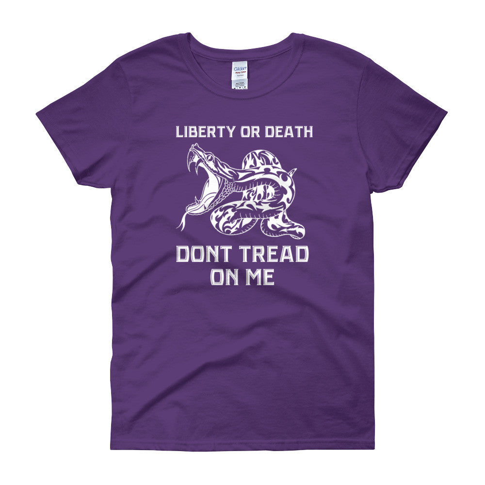 Don't Tread on Me Snake Women's short sleeve t-shirt