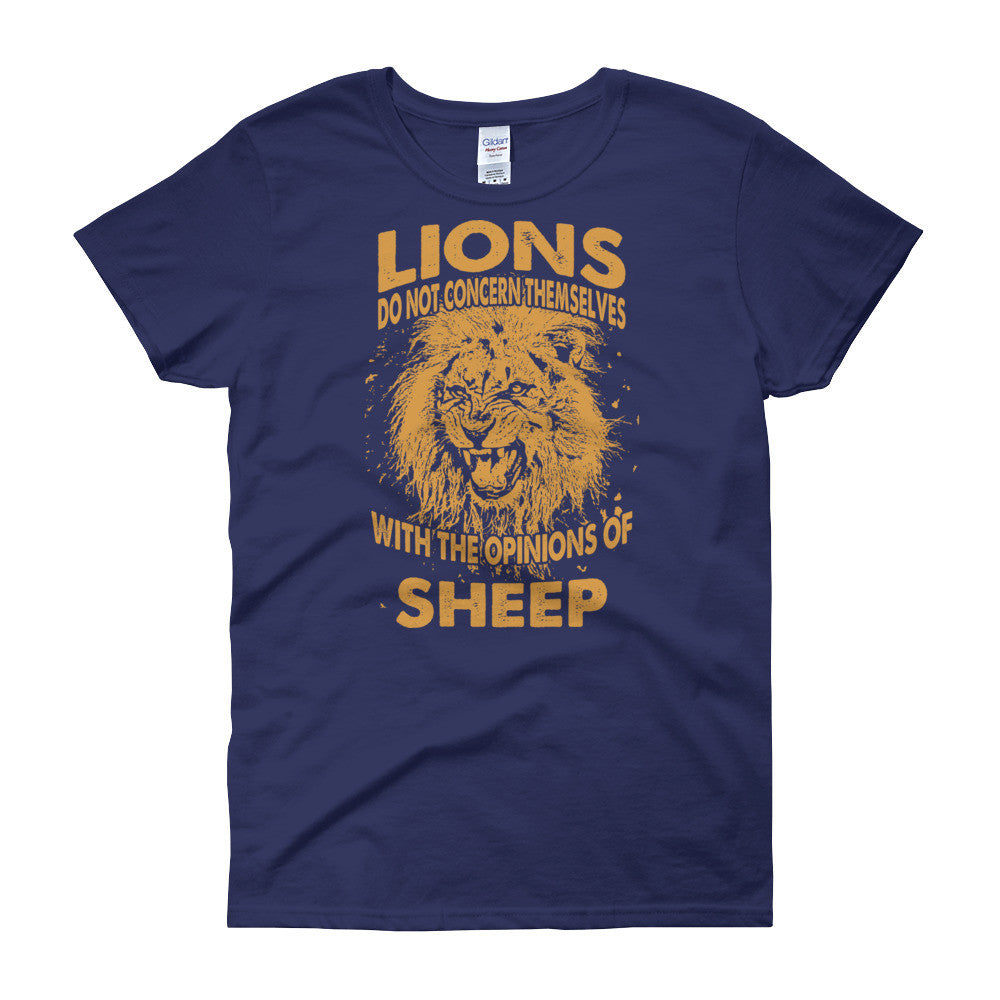 Lions & Sheep Women's short sleeve t-shirt