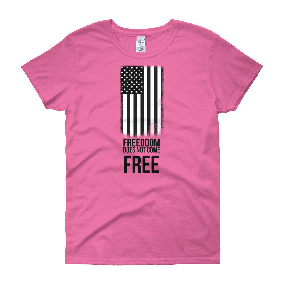 Freedom Flag Women's short sleeve t-shirt