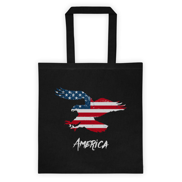 Eagle Flag America Tote bag