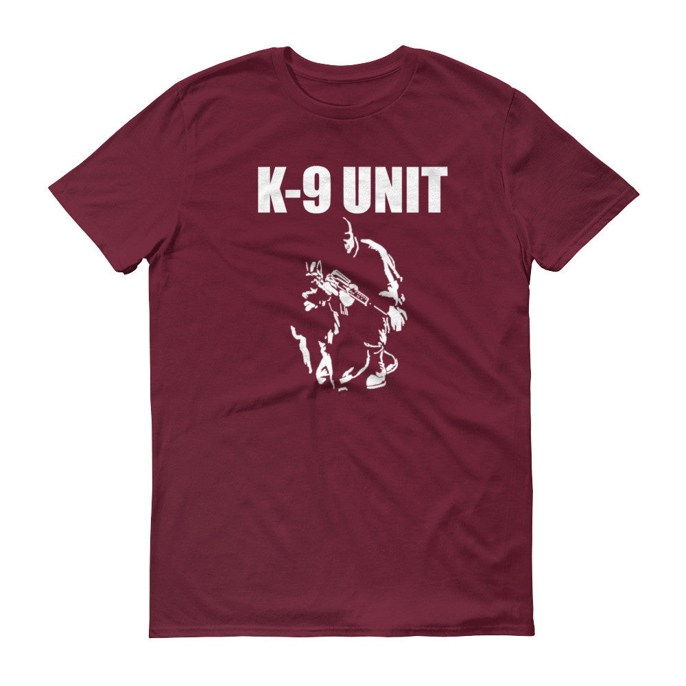 K-9 Unit Short sleeve t-shirt