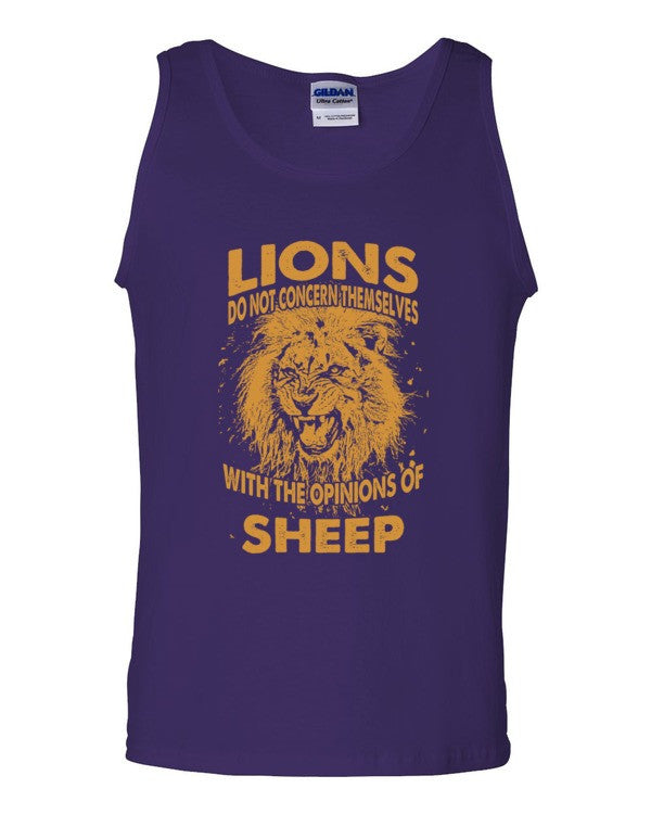 Lions & Sheep Tank top