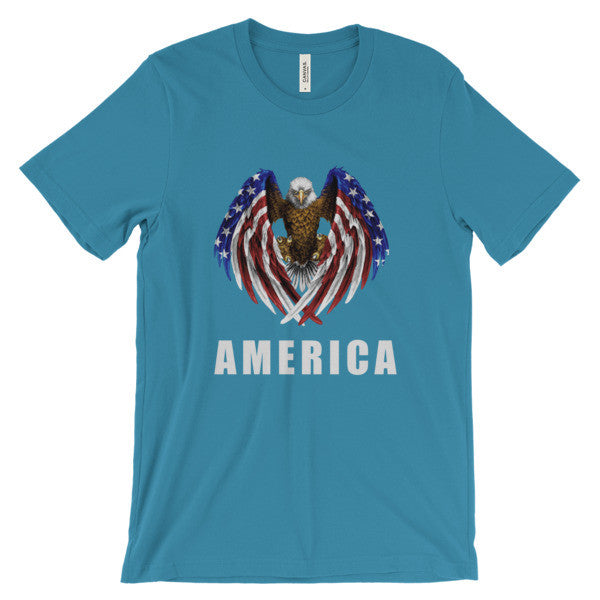 America  short sleeve t-shirt