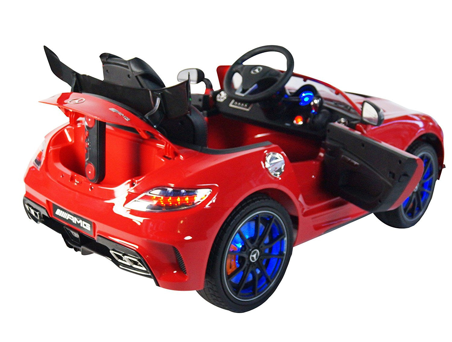 Mercedes Sls Amg Premium Ride On Electric Toy Car For Kids Toys
