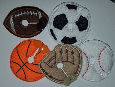 Set - Sports - Feeding Tube Pad - Tubie Whoobies